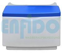 Kabinettsalzbehälter für Doppelwasserenthärtungsanlagen